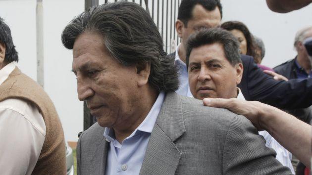 Reza. Alejandro Toledo espera que los fallos judiciales le sean favorables. (Perú21)