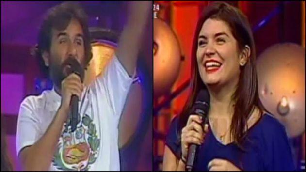 Giovanni Ciccia y Nataniel Sánchez son los nuevos jales de Latina. (Créditos: Captura de TV)