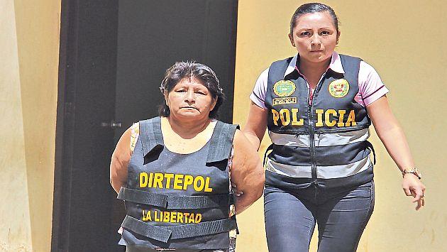 La ex alcaldesa fue detenida frente a su casa. (FOTO: USI)