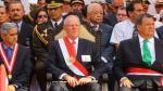 PPK y Keiko Fujimori asistieron a ceremonia en homenaje a los comandos (Presidencia)