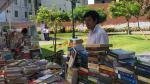 Así se vive la segunda edición de la Feria del Libro Viejo que continuará hasta este domingo 23 [FOTOS] - Noticias de principe carlos