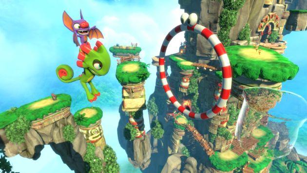Yooka-Laylee: El videojuego para los nostálgicos de los grandes personajes (Captura)