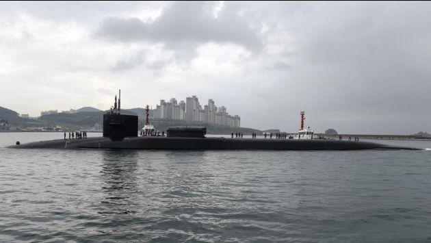En plena tensión, EE.UU. envía submarino nuclear a la península de Corea (El Mundo).