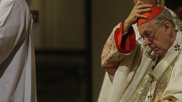"""Proponen dar """"Medalla al Defensor de la Democracia"""" a cardenal Cipriani"""
