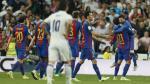 Barcelona derrotó 3-2 a Real Madrid en el clásico de la Liga Española. (AP)