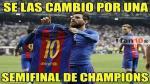 Los memes más divertidos de la victoria del Barcelona al Real Madrid en la Liga Española.