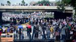 Suman tres muertos en protestas convocadas contra el presidente de Venezuela, Nicolás Maduro. (AFP)