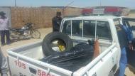 Taxista murió cuando intentaba salir de las llamas de su auto en Arequipa. (Referencial)