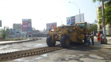 Trujillo: Empiezan trabajos de rehabilitación de pistas dañadas por huaicos