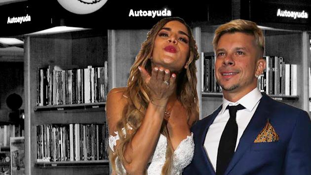 Mario Hart y Korina Rivadeneira en la sección de Autoayuda. (Composición)