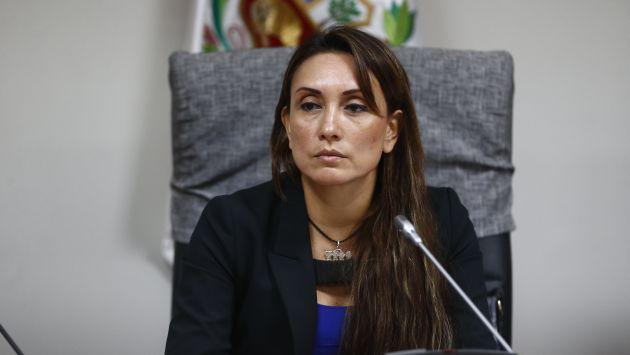 La congresista fujimorista dirige el grupo de reforma electoral de la Comisión de Constitución (Renzo Salazar).