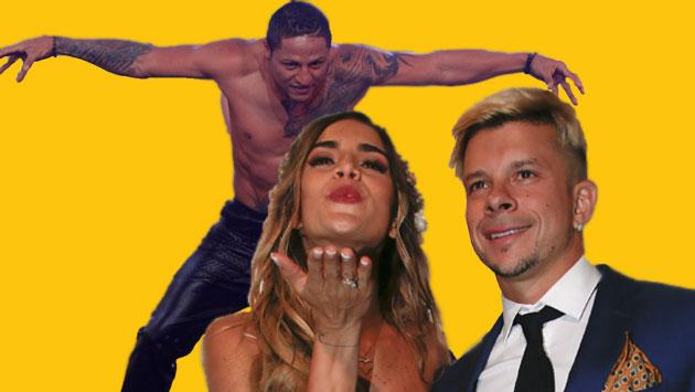 Jonathan Maicelo arremete contra Korina Rivadeneira y Mario Hart. (Composición)