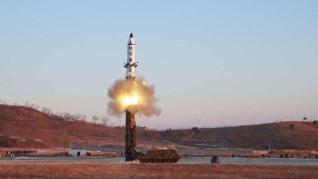 Corea del Norte lanzó hoy un misil balístico de mediano alcance (Q' Pasa en Venezuela).
