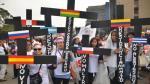 Extranjeras integrantes del colectivo Madres Migrantes Maltratadas exigen que se revisen sus casos. (Difusión)