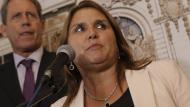 Marisol Pérez Tello acotó que condenados por delitos graves no podrán participar de elecciones. (Piko Tamashiro)