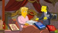 Los Simpson parodian los 100 días de gobierno de Donald Trump (Captura)