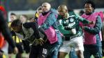 Peñarol y Palmeiras se enfrascaron en una descomunal pelea al final del partido [VIDEO]