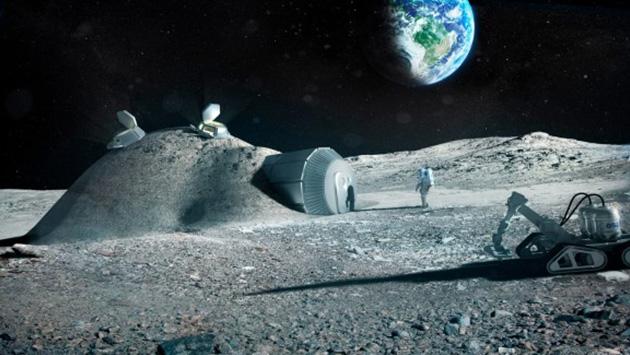 China en negociaciones con la Agencia Espacial Europea para la construcción de una base humana en la Luna. (ESA)