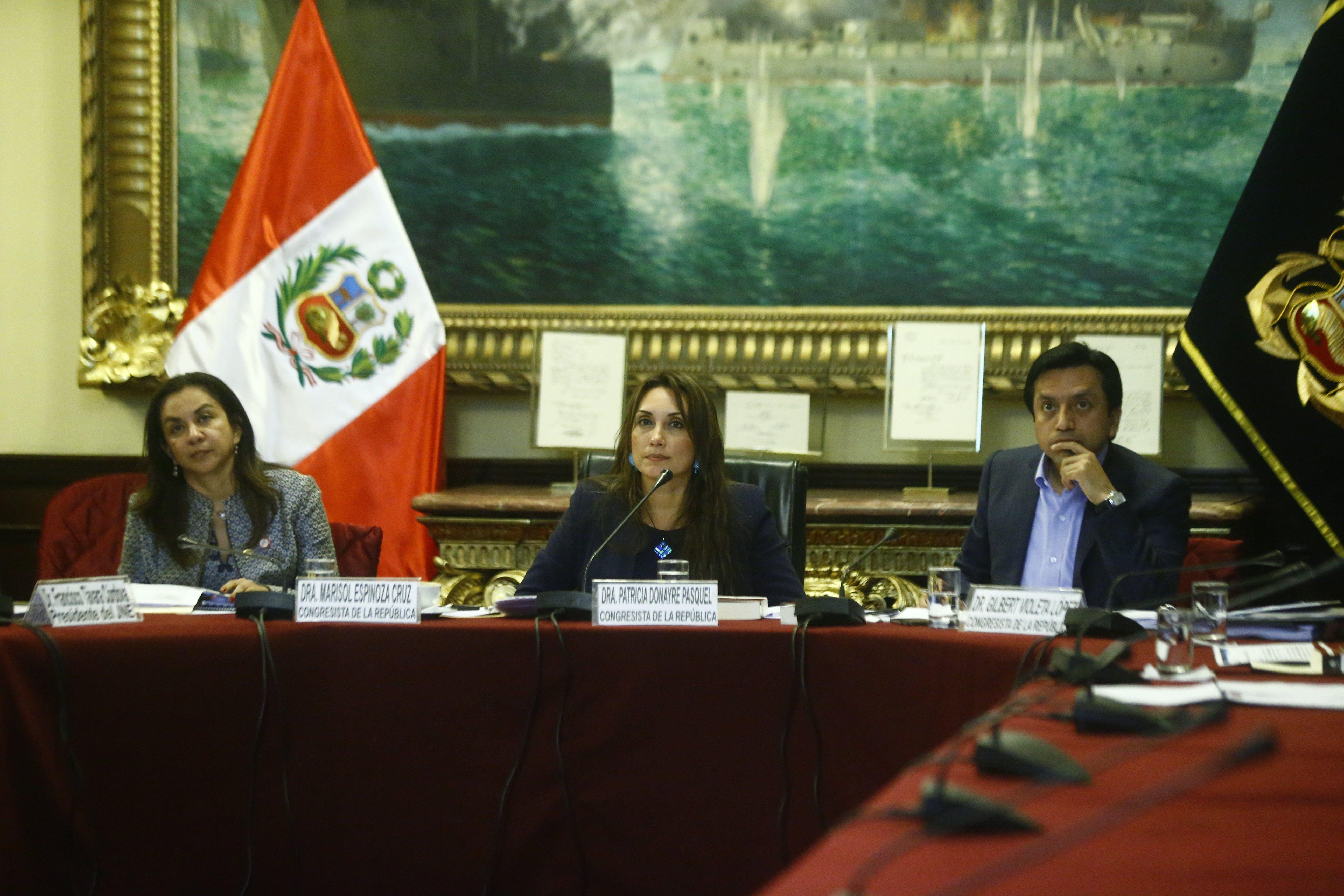 La congresista Patricia Donayre. (Luis Centurión)