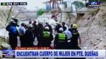 San Martín de Porres: Hallan cadáver de mujer en Río Rímac - Noticias de puente duenas