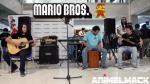 Esto es lo que pasa cuando se tocan canciones de Super Mario Bros con el cajón peruano [VIDEO] - Noticias de grupo especial