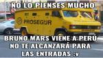 Bruno Mars llega al Perú y lo memes por su concierto no se hicieron esperar [Fotos] - Noticias de