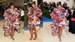 Rihanna lució extravagante y llamativa durante la gala MET 2017 [FOTOS] - Noticias de ashley olsen