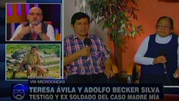 Caso Madre Mía: 'Cachorro' confirma que Natividad Ávila fue descuartizada y lanzada al río. (ATV)