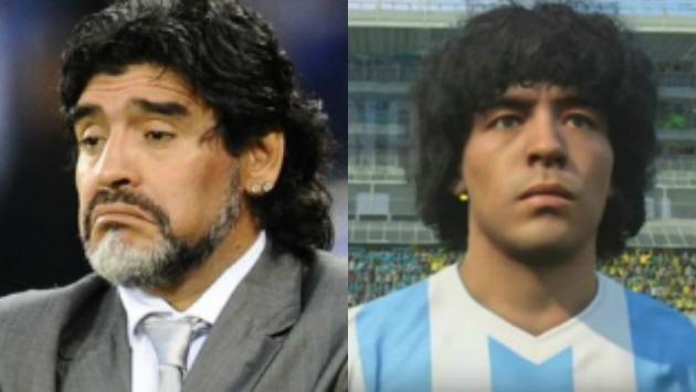 Maradona construirá canchas de fútbol para niños con el dinero del acuerdo. (AFP/PES)