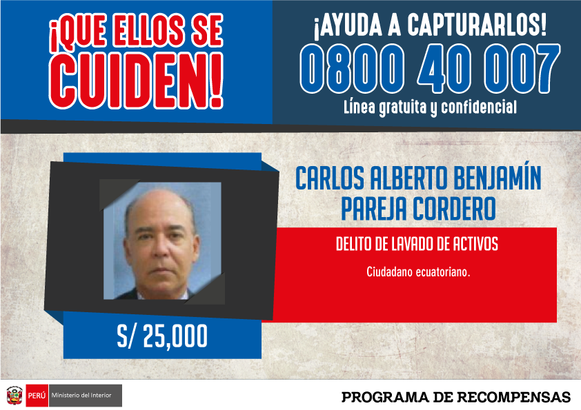 Detienen a Charlie Pareja C en Lima — URGENTE
