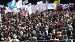 Rusia: Cientos de opositores se manifiestan contra abusos y corrupción - Noticias de reeleccion