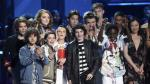 MTV Awards: Así fue el encuentro de los actores de '13 Reasons Why' y 'Stranger Things' [VIDEO] - Noticias de mtv movie awards