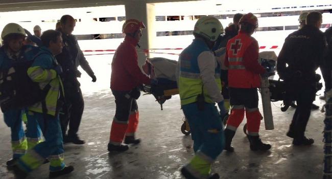 El accidente laboral ocurrió alrededor de las 09.45 horas. (Foto: 111 Comunidad de Madrid)