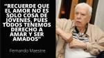 """""""El amor en la tercera edad"""", recordada columna de Fernando Maestre - Noticias de fernando maestre"""
