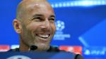 """Zinedine Zidane: """"Vamos a intentar marcar y ganar el partido"""" - Noticias de vicente calderon"""