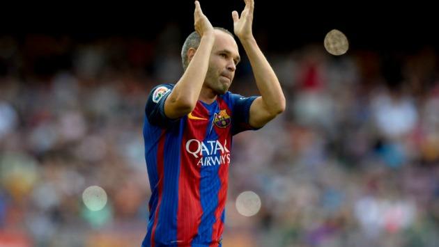 Iniesta es capitán del Barcelona. (AFP)