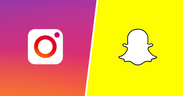 Snapchat sucumbe ante Instagram (Digital Glue)