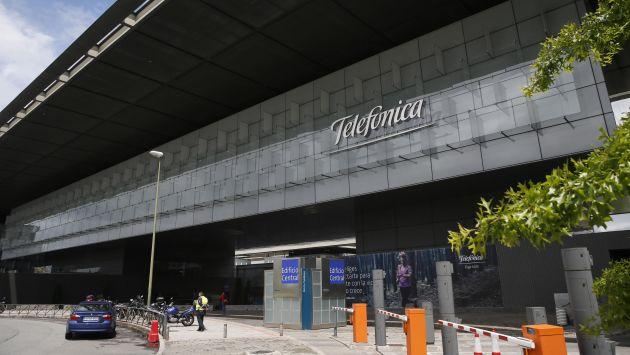 Telefónica apagó sus computadores en su sede central en España tras hackeo masivo. (EFE)