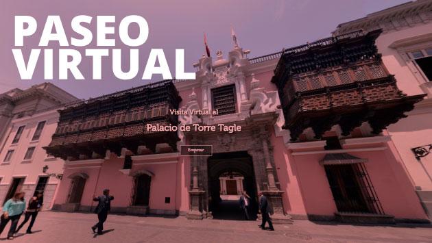 Puedes conocer la arquitectura del Palacio Torre Tagle desde el enlace que compartimos aquí.