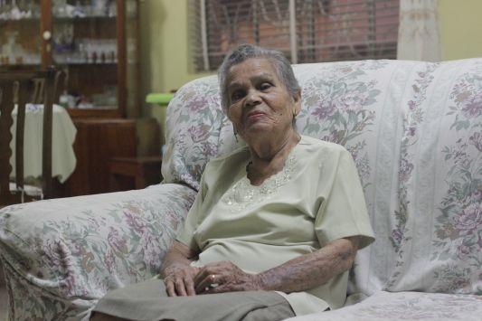 Angelita Quiroz resalta que la familia es importante para vivir bien. (NADIA QUINTEROS)