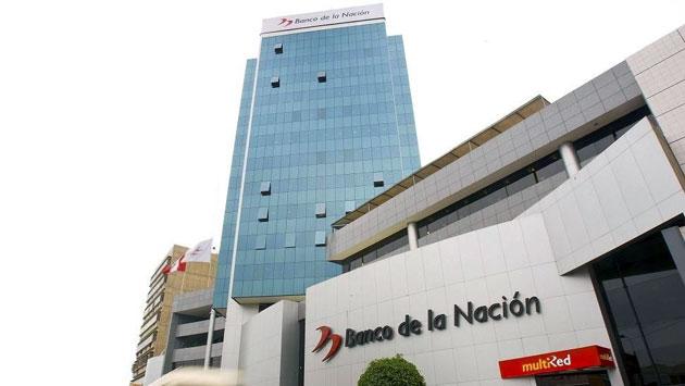 Sede principal del Banco de la Nación en Lima. (USI)