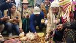 Kenji Fujimori hizo un pago a la tierra por la salud de su padre [Video] - Noticias de aprista alan garcia