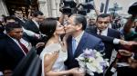 Así fue el matrimonio entre ex ministro Mariano González y Lissete Ortega [FOTOS] - Noticias de carlos orbegoso