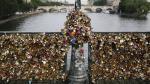 Francia: Los 'candados del amor' fueron subastados en beneficio de los refugiados - Noticias de plaza francia