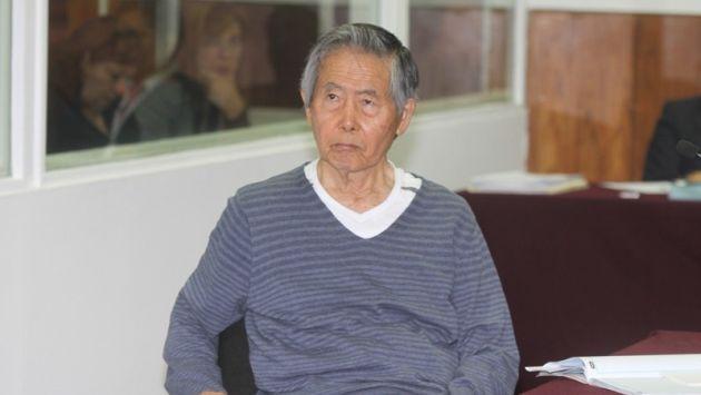 EL 59% de peruanos respalda indulto humanitario a Alberto Fujimori. (Paco Medina)