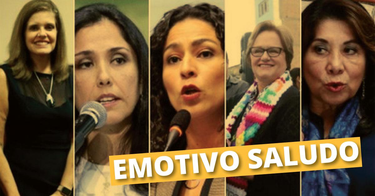 Día de la Madre: 10 mujeres de la política peruana que no dudaron en saludar a sus mamás. (Composición)