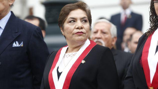 La presidenta del Parlamento pidió analizar y debatir los proyectos (Atoq Ramón).