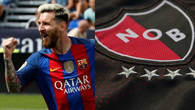 Messi tiene el sueño de volver al club de sus amores. (Composición)