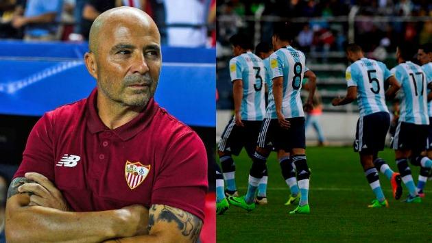 El 'Hombrecito' considerará a algunos jugadores argentinos que juegan en el extranjero. (Composición)