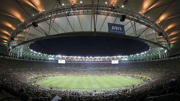 Brasil: Maracaná bajo la lupa. (USI)